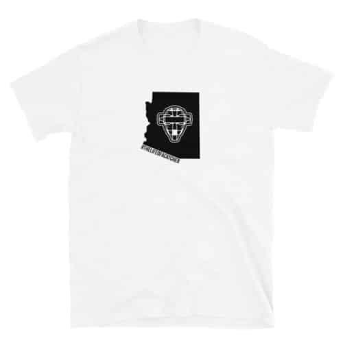 Todd Coburn The Catching Guy Arizona State Adult T Shirt #thelifeofacatcher White
